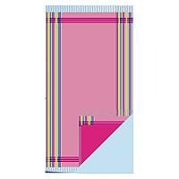 [해외]TARRAGO Double Stripes Kikoy Pink
