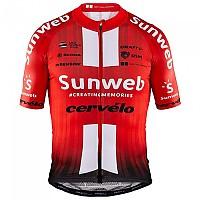[해외]크래프트 Team Sunweb Aerolight Jersey Red