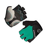 [해외]ENDURA Woman Short Gloves Hyperon Teal