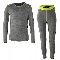 [해외]로플러 Set Long Transtex Merino Gray Melange / Lime