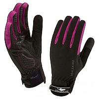 [해외]SEALSKINZ All Weather Cycle Glove Black / Prune
