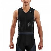 [해외]스킨스 DNAmic Triathlon S/L Top Black / Carbon