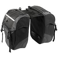 [해외]XLC Doublepack Bag BA S41 30L Black / Anthracite