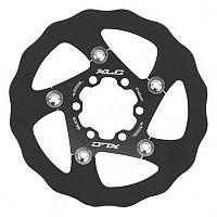[해외]XLC Brake Disc BR X76 Black / Titan