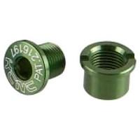 [해외]KCNC Chainring Bolt Spb0014 Road 5 Pieces Green