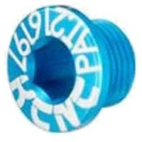 [해외]KCNC Kcncchainring Bolt For MTB 4 Pieces Blue