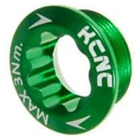 [해외]KCNC Crank Left 시마노 Arm Bolt Green