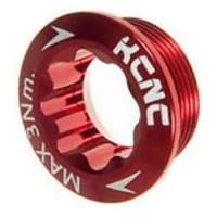 [해외]KCNC Crank Left 시마노 Arm Bolt Red