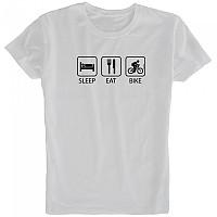 [해외]KRUSKIS Sleep Eat and Bike White