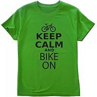 [해외]KRUSKIS Keep Calm and Bike On Green