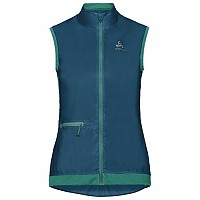 [해외]오들로 Fujin Vest Crystal Teal / Pool Green