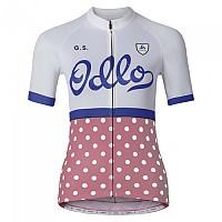 [해외]오들로 Ride Bike Jersey Fleur De Lotus / Spectrum Blue