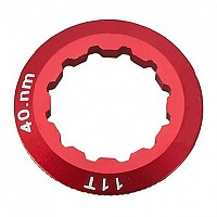 [해외]PROGRESS PG 25 Cassette Lock Ring Aluminium Campagnolo 12D Red