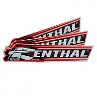 [해외]RENTHAL Cycle Sticker 300 mm Black / Red / Whie