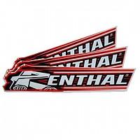 [해외]RENTHAL Cycle Sticker 100 mm Black / Red / Whie