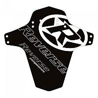 [해외]REVERSE COMPONENTS Mudfender Logo Black / White