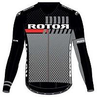 [해외]ROTOR Jersey L/S Black / Grey