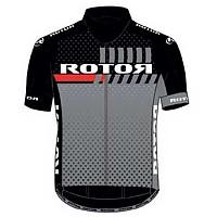 [해외]ROTOR Jersey S/S Black / Grey