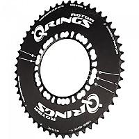 [해외]ROTOR Q Rings BCD110x5 Outer Aero Black