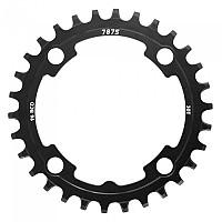 [해외]SUNRACE MX Speed Narrow-Wide Chain Ring Black