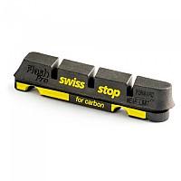 [해외]SWISSSTOP Kit 4 Rim Pad Flash Black Carbon