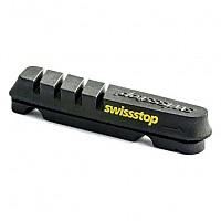 [해외]SWISSSTOP Kit 4 Rim Pad Flash Evo Black / Carbon