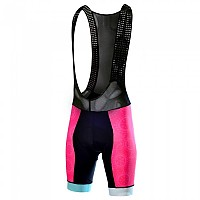 [해외]TAYMORY B225 Colorfull Pad Bibshort Black / Pink / Blue