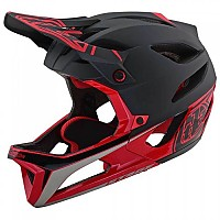 [해외]TROY LEE DESIGNS Stage Race Mips Black / Red