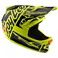 [해외]TROY LEE DESIGNS D3 Fiberlite Factory Fluor Yellow