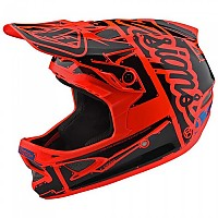[해외]TROY LEE DESIGNS D3 Fiberlite Factory Orange