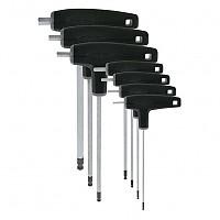 [해외]VAR Set Of 7 P Handled Hex Wrenches With Ball Ends