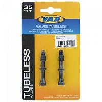 [해외]VAR 2 Brass Presta Valves Aluminium Carded