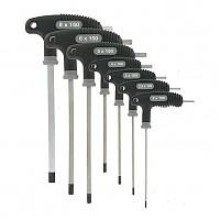 [해외]VAR Set Of 7 P Handled Hex Wrenches