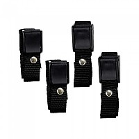 [해외]8 C PLUS Pressure Buckle With Strap Blister 4 Units Black