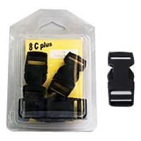 [해외]8 C PLUS Buckle Tridente 20 Black