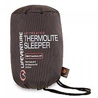 [해외]LIFEVENTURE Thermolite Travel Sleeper Rectangular Black