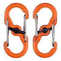 [해외]NITE IZE S Biner Microlock 2 Units Orange