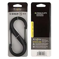 [해외]NITE IZE Plastic S Biner 6 Carabiner Black