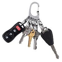 [해외]NITE IZE Bigfoot Locker Keyrack Silver