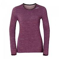 [해외]오들로 Shirt L/S Crew Neck Revolution Tw Warm Magenta Purple Melange