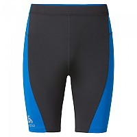 [해외]오들로 Fury Tights short Odlo Graphite Grey / Directoire Blue