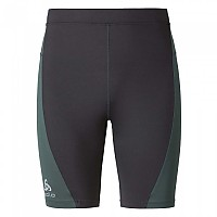 [해외]오들로 Fury Tights short Odlo Graphite Grey / Sibirian Pine