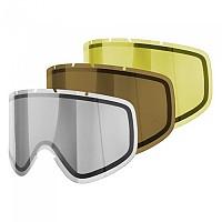 [해외]POC Iris Comp Lens 3 Pack Zeiss Regular Brown / Clear / Smokey Yellow