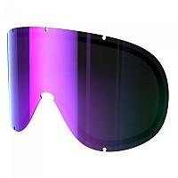 [해외]POC Retina Big Spare Lens Zeiss Grey / Purple Mirror