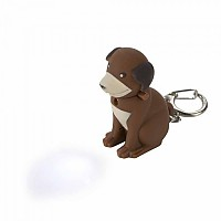 [해외]REGATTA Animal Keyring Dog(Brown)