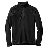 [해외]SMARTWOOL Merino 250 Baselayer 1/4 Zip Black