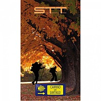 [해외]STT SPORT Crazy Towel Camino De Santiago In Autumn Compact Orange