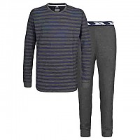 [해외]TRESPASS Gylan Base Layer Set Navy Tone Stripe