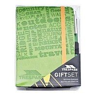 [해외]TRESPASS Jot Pad & Pen Giftbox Leaf
