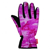 [해외]WIND X-TREME Gloves Camouflage Pink